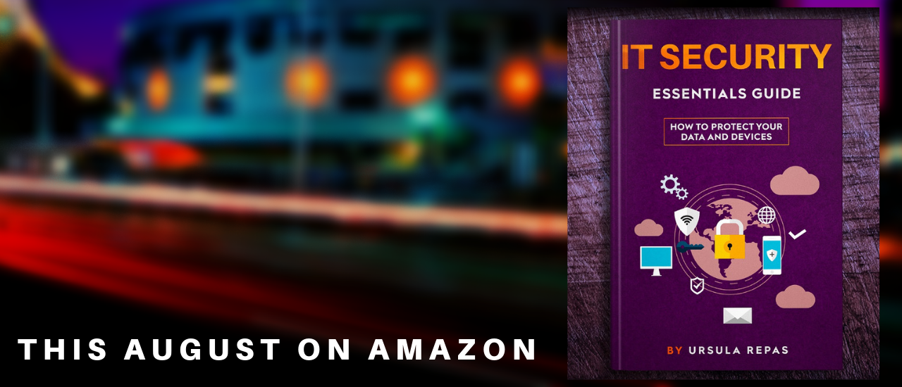 Color photo of an IT Security Essentials ebook